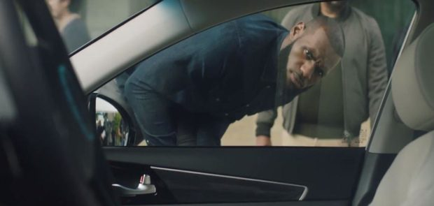 lebron james, basket, basket ball, intel, pub, voiture autonome