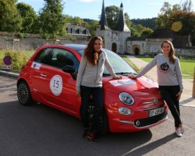 rallye, rallye auto, rallye feminin, voiture femme, auto femme, rallye des 500, fiat, fiat 500, 500, citadine