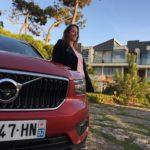 Volvo, XC40, volvo XC40, SUV, SUV urbain, Suv compact, premium, essai, testdrive, clemence de bernis, les enjoliveuses