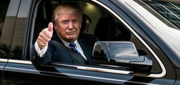 donald Trump, japon, bowling, test automobile, boules de bowling