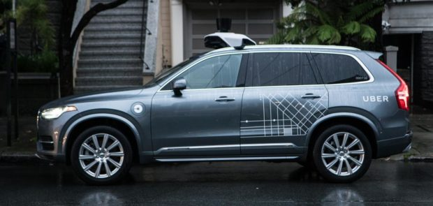 voiture autonome, uber, volvo XC90, accident