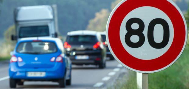 80 km/h, limitation vitesse, abaissement limitation vitesse, securite routiere, mobilisation