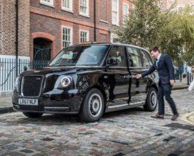 taxi, taxi electrique, voiture electrique, taxi londonien, vehicule electrique, black cab, LEVC