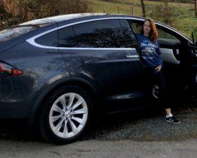 Tesla, Model X, Tesla Model X, voiture electrique, essai, tetsdrive, mobilite durable, clemence de bernis