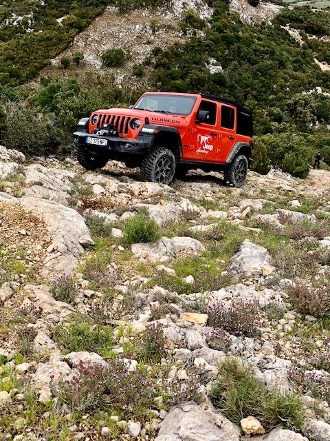 jeep, wrangler, jeep wrangler, jeep academy, franchissement, 4x4, off-road, chateau de lastours
