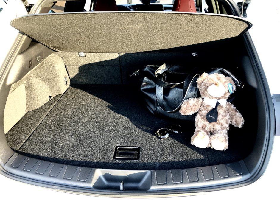 Lexus, UX, UX 250h, Lexus UX, essai, testdrive, roadtrip, coffre