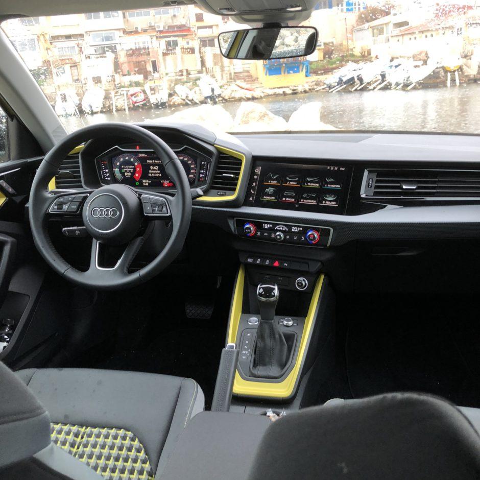 Audi A1, testdrive, essai, citadine, nouvelle A1
