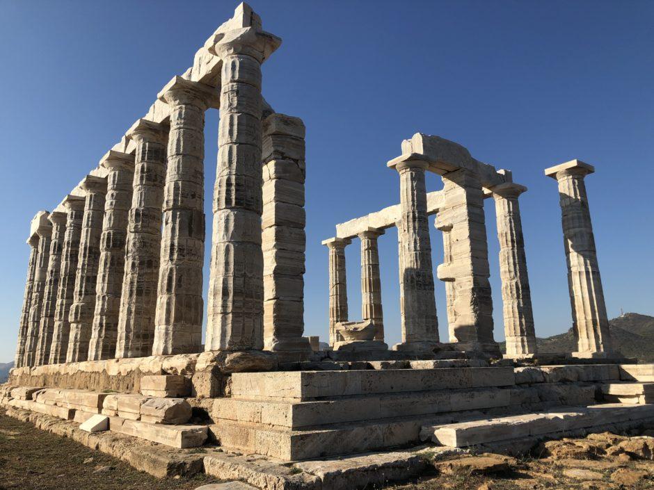 captur renault, crossover urbain, renault, testdrive, grece, temple poseidon