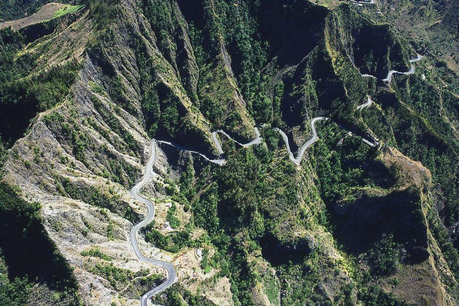 plus belles routes du monde, plus beaux cols du monde, ile de la réunion, réunion, route de cilaos