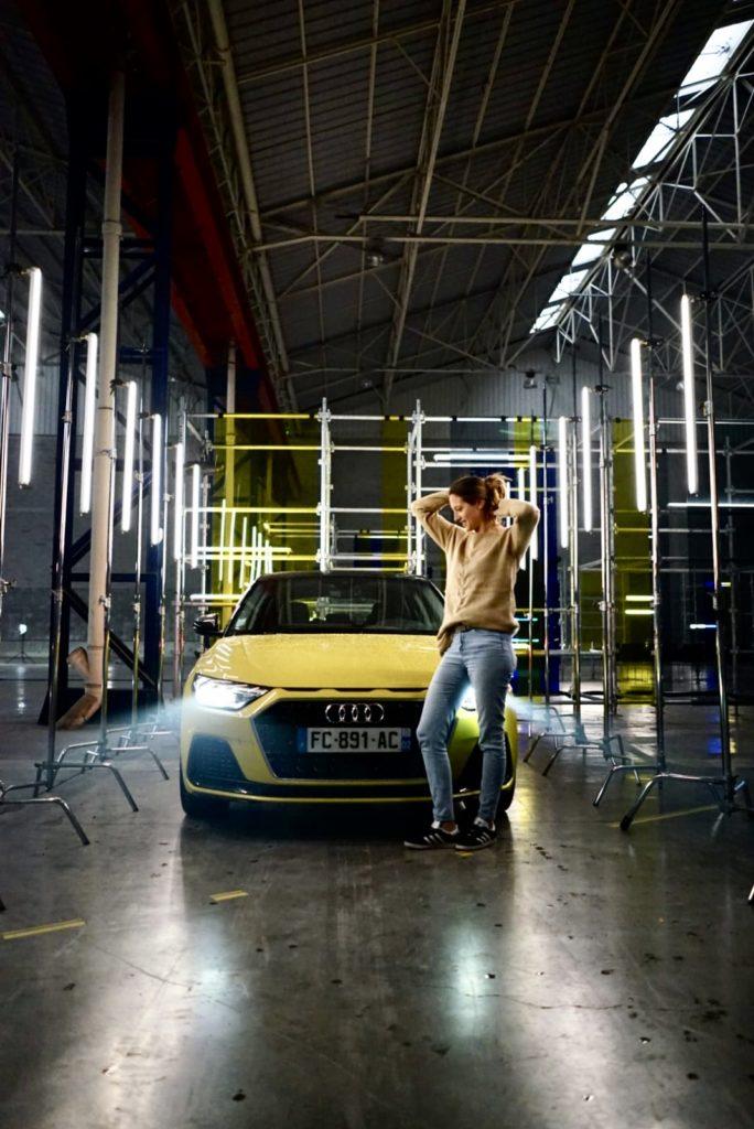 Audi, A1, testdrive, essai, citadine, clemence de bernis