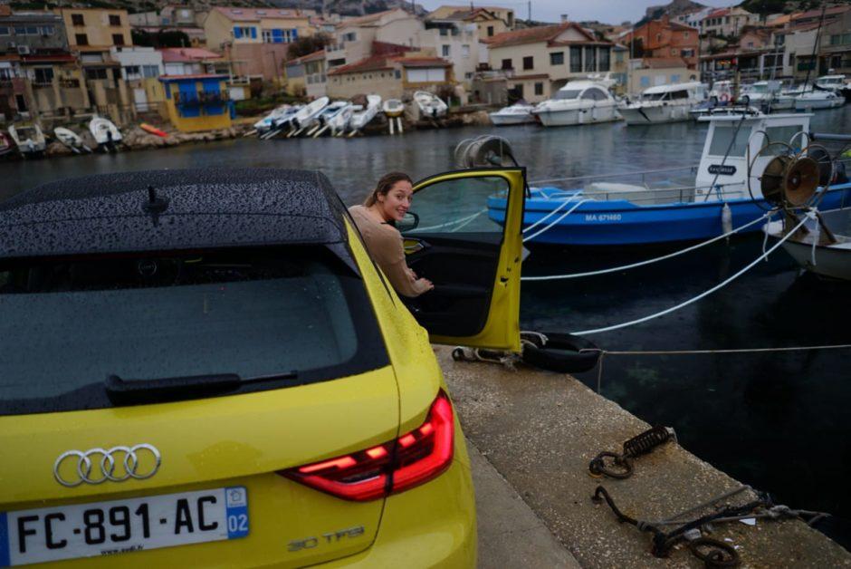Audi A1, testdrive, essai, citadine, clemence de bernis