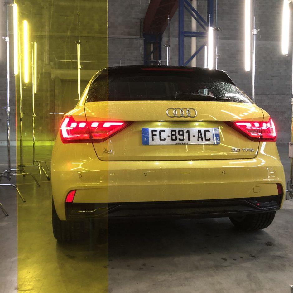 Audi A1, testdrive, essai, citadine, nouvelle A1, face arriere