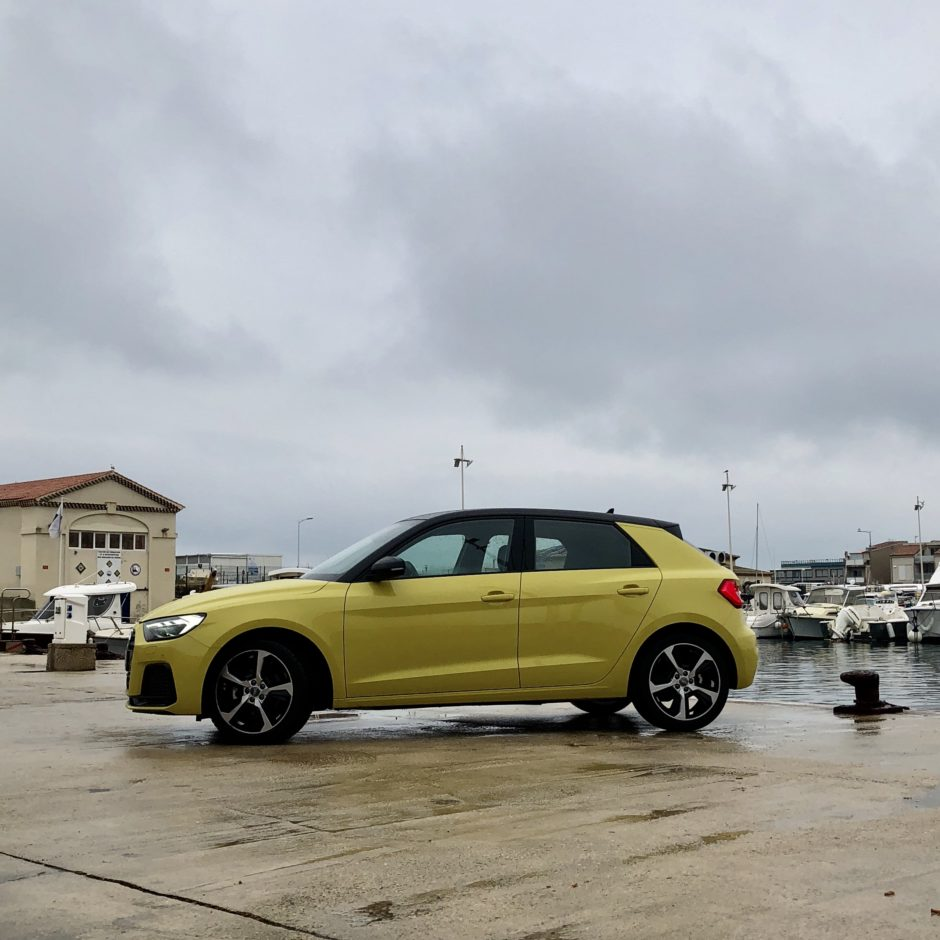 Audi, A1, testdrive, essai, citadine, profile