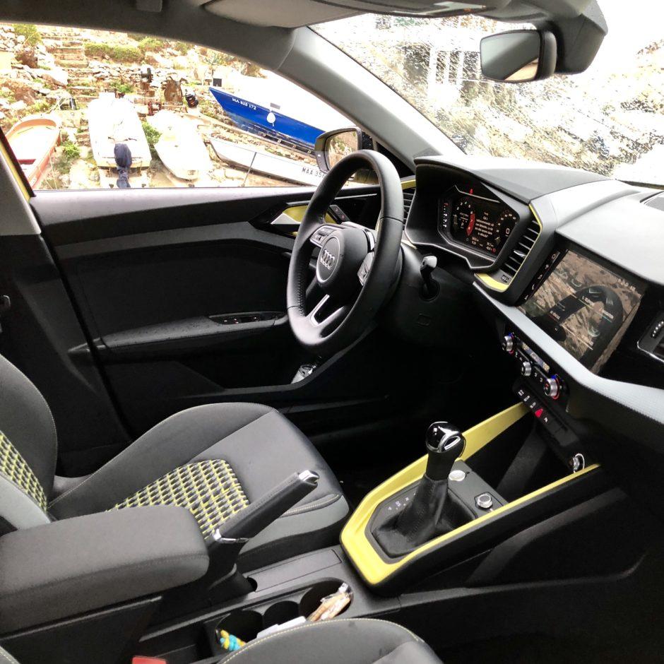 Audi A1, testdrive, essai, citadine, habitavle