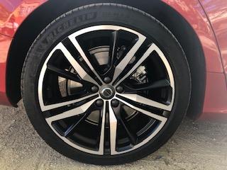 Volvo, S60, berline, vehicule hybride, essai, roue