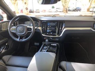 Volvo, S60, berline, vehicule hybride, essai, habitacle