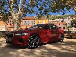 Volvo, S60, berline, vehicule hybride, essai, optique