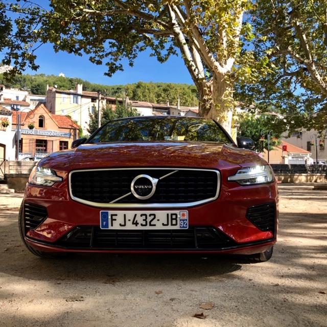 Volvo, volvo S60, S60, berline, vehicule hybride, essai, calandre