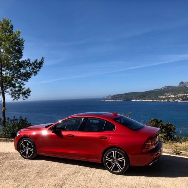 Volvo, volvo S60, S60, berline, vehicule hybride, essai, profil