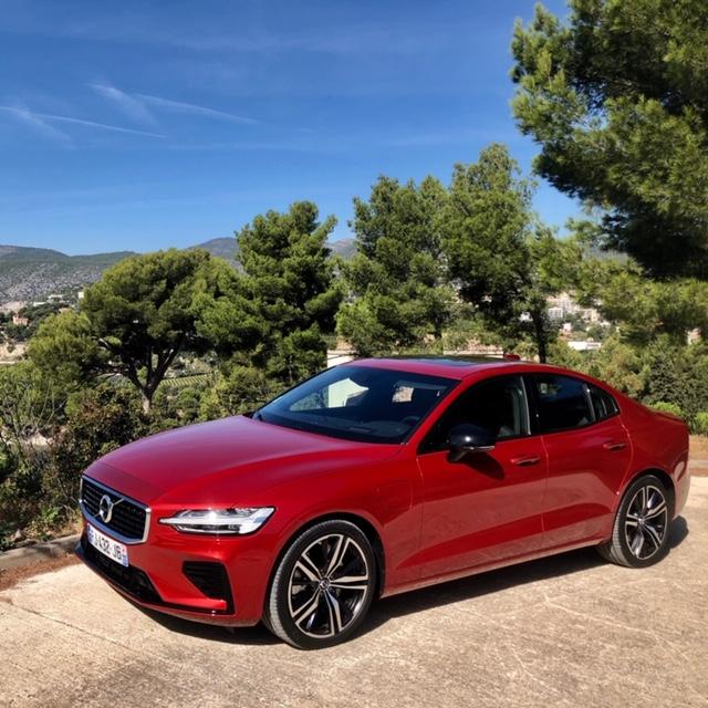 Volvo, volvo S60, S60, berline, vehicule hybride, essai, face avant