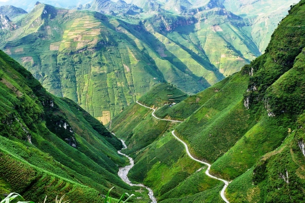 plus belles routes du monde, plus beaux cols du monde, col de montagne, ma pi leng, vietnam