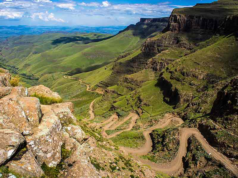 Sani pass - les enjoliveuses
