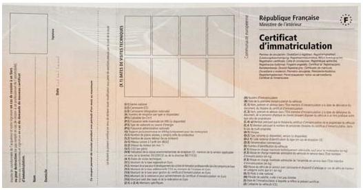 carte grise, certificat immatriculation, démarche, document carte grise, achat voiture