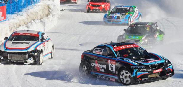trophée andros, course sur glace, rallye électrique, rallye auto, sebastien loeb