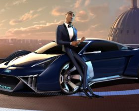 film, cinema, audi, RSQ e-tron, prototype, film animation, cinema et auto