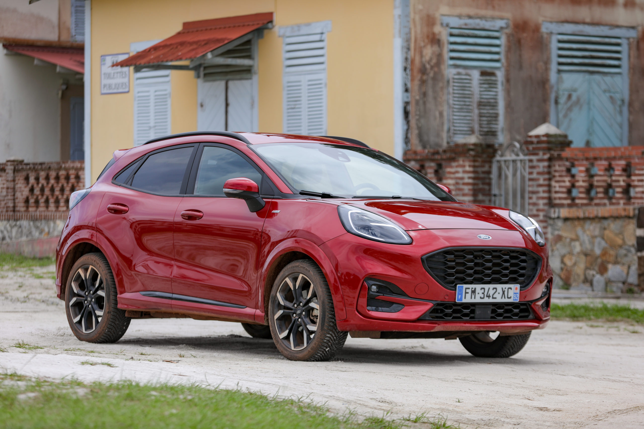 ford puma, guyane, face avant, m6 turbo, roadtrip