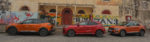 volkswagen t roc, ford puma, peugeot 2008, guyane, roadtrip, comparatif