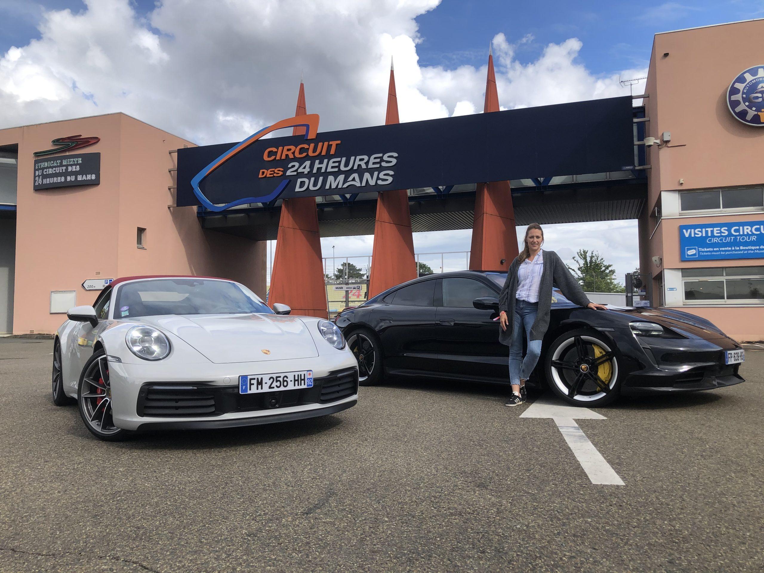 Porsche, Taycan, Porsche Taycan, voiture électrique, essai auto, clémence de bernis