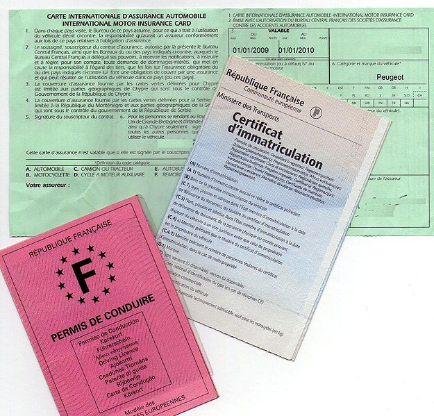 carte grise, certificat immatriculation, achat voiture,