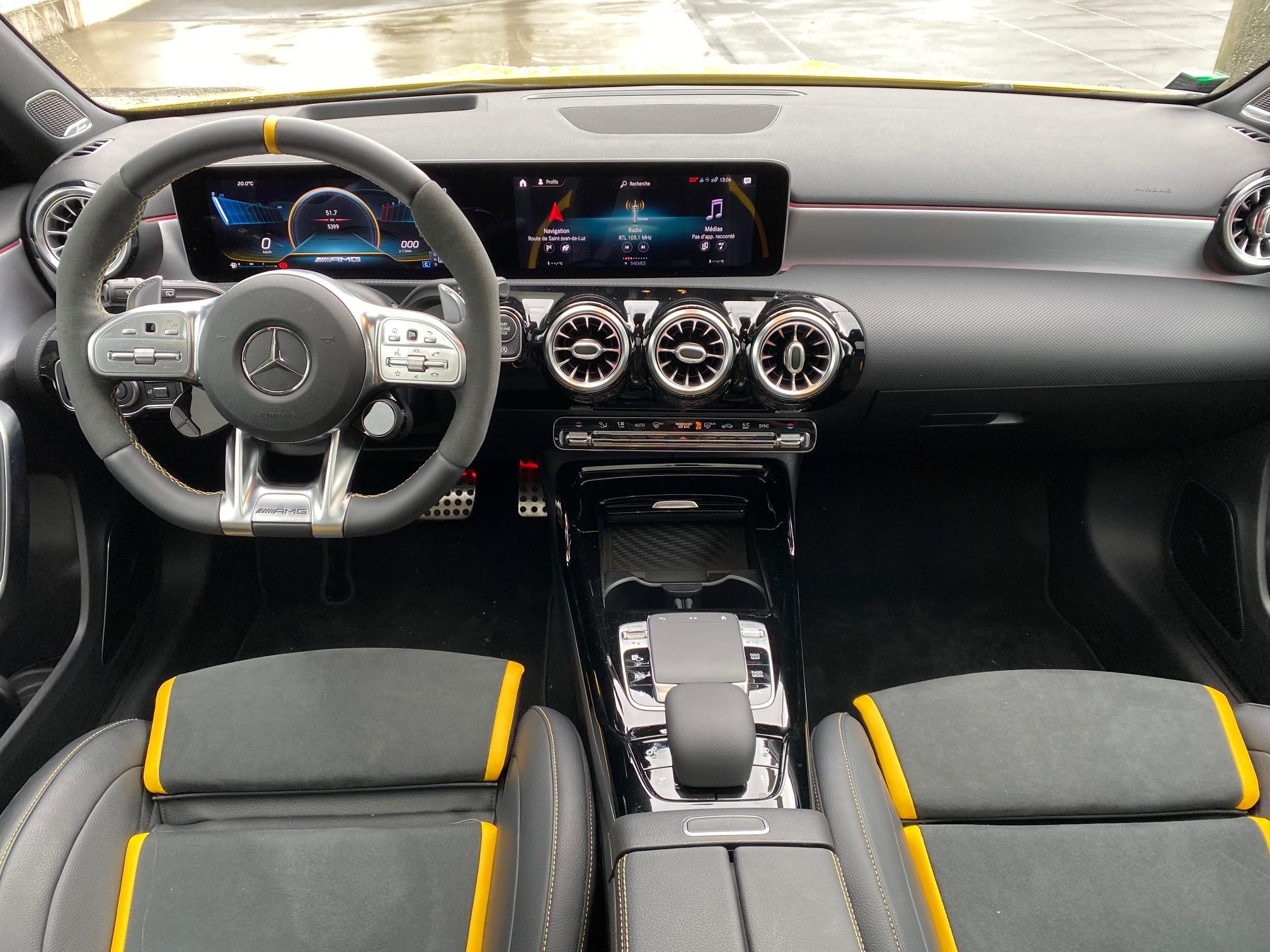 Mercedes, mercedes AMG, compacten compacte sportive, voiture sportive, A 45 S AMG