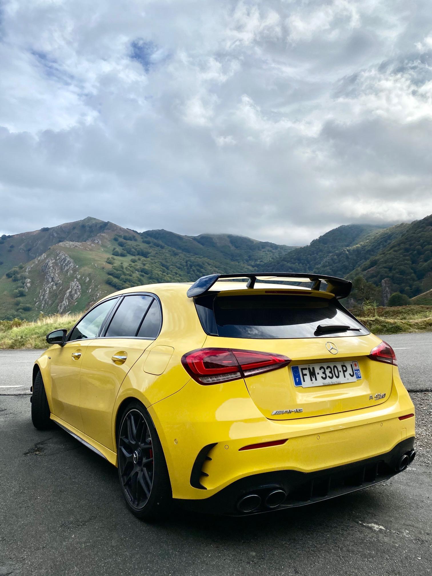 Mercedes, mercedes AMG, compacten compacte sportive, voiture sportive, mercedes A 45 S AMG