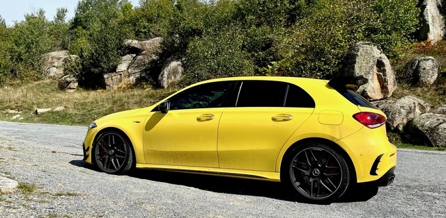 Mercedes, mercedes AMG, compacten compacte sportive, voiture sportive, A 45 S AMG