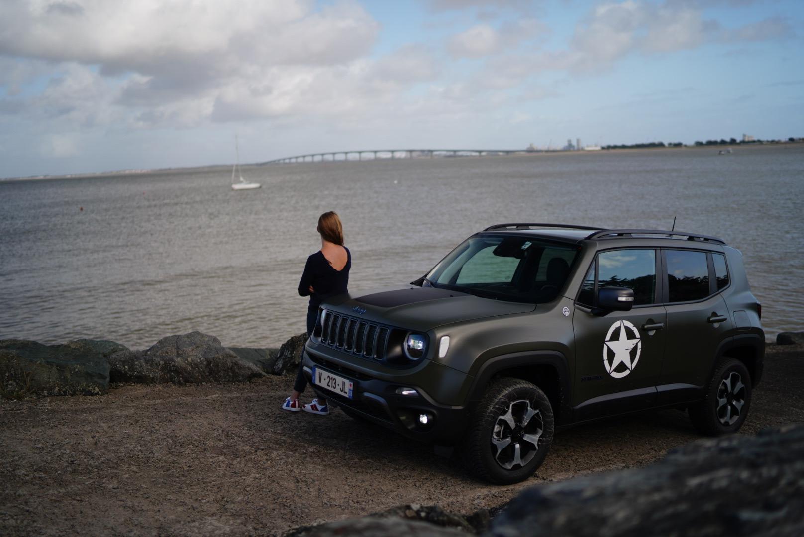 Jeep, renegade, jeep renegade, clemence de bernis, 4xe, hybride
