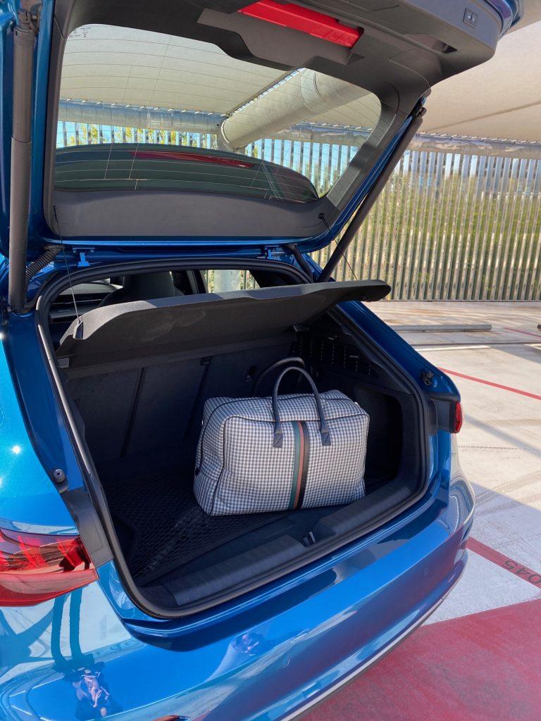 audi A3, audi, a3, A3 sportback, berline, compacte, essai, coffre