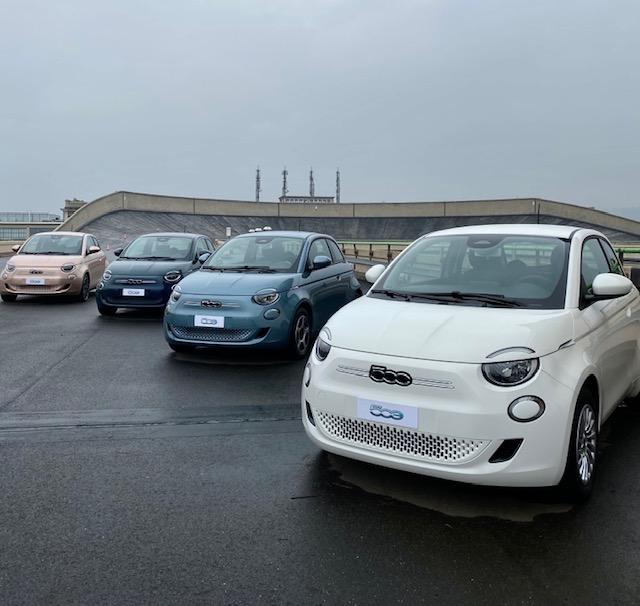 fiat, fiat 500, 500e, Fiat 500 electrique, essai, citadine, citadine electrique, 3+1, cabriolet