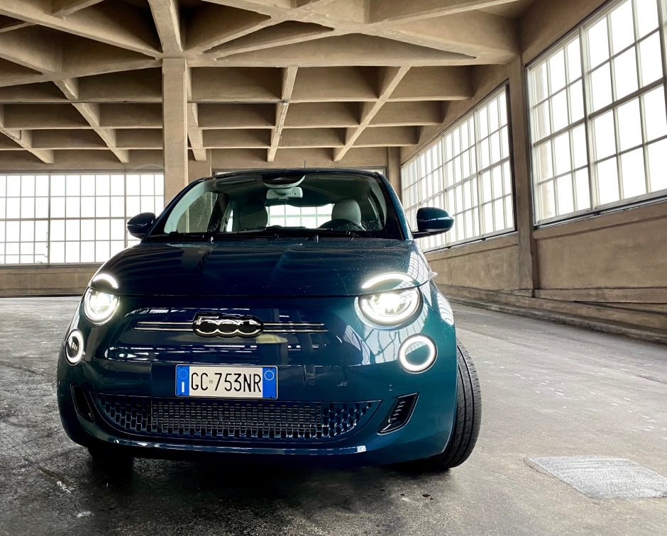 fiat, fiat 500, 500e, Fiat 500 electrique, essai, citadine, citadine electrique,