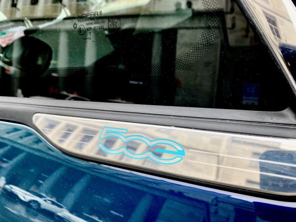fiat, fiat 500, 500e, Fiat 500 electrique, essai, citadine, voiture electrique,