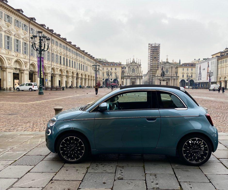 fiat, fiat 500, 500e, Fiat 500 electrique, essai, citadine, citadine electrique, cabriolet