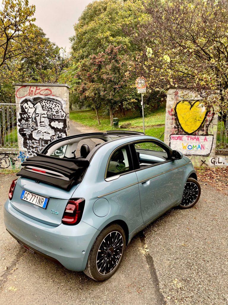 fiat 500, 500e, Fiat 500 electrique, essai, citadine, citadine electrique, fiat 500e, cabriolet