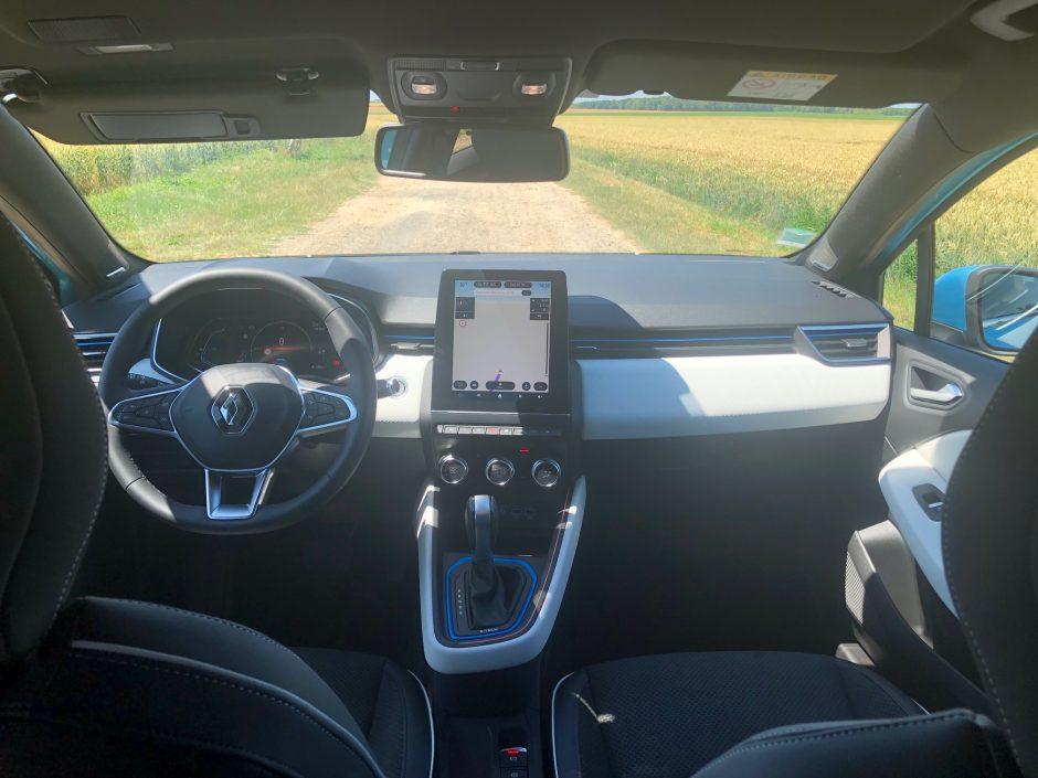 renault, clio, essai auto, citadine, citadine hybride, voiture hybride, Clio E-Tech