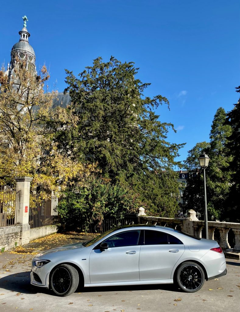 mercedes, cla, cla 250e, mercedes CLA 250e, essai, testdrive, EQ power, coupe, voiture hybride