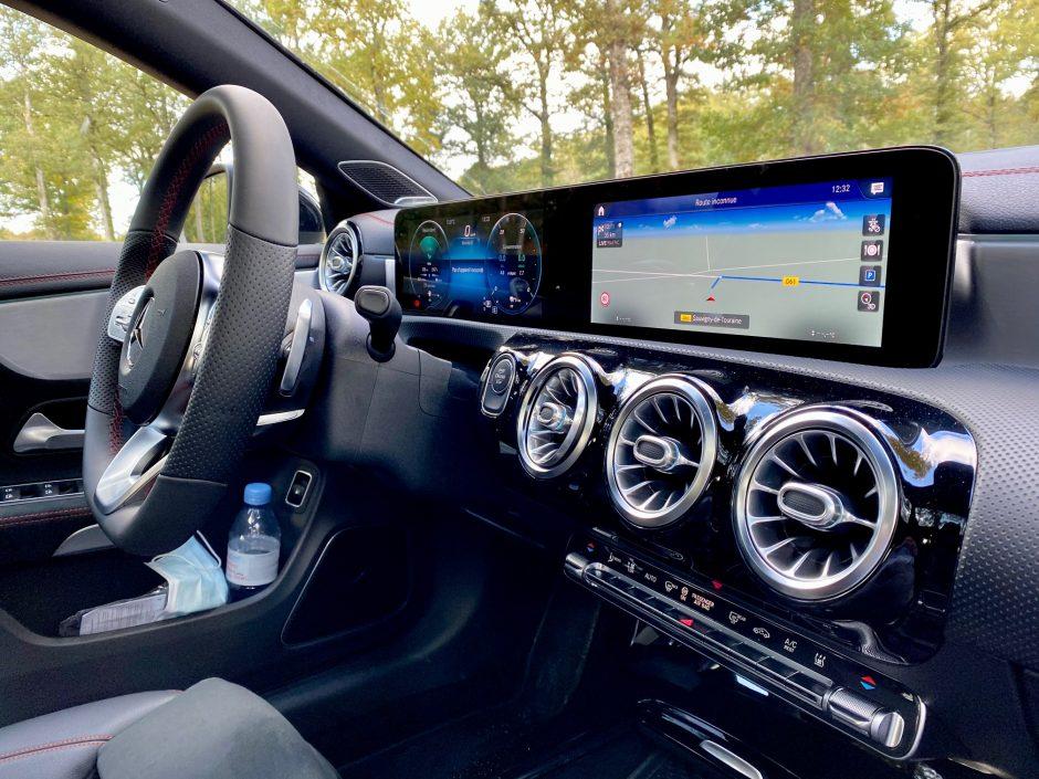 mercedes, cla, cla 250e, essai, testdrive, EQ power, coupe, voiture hybride