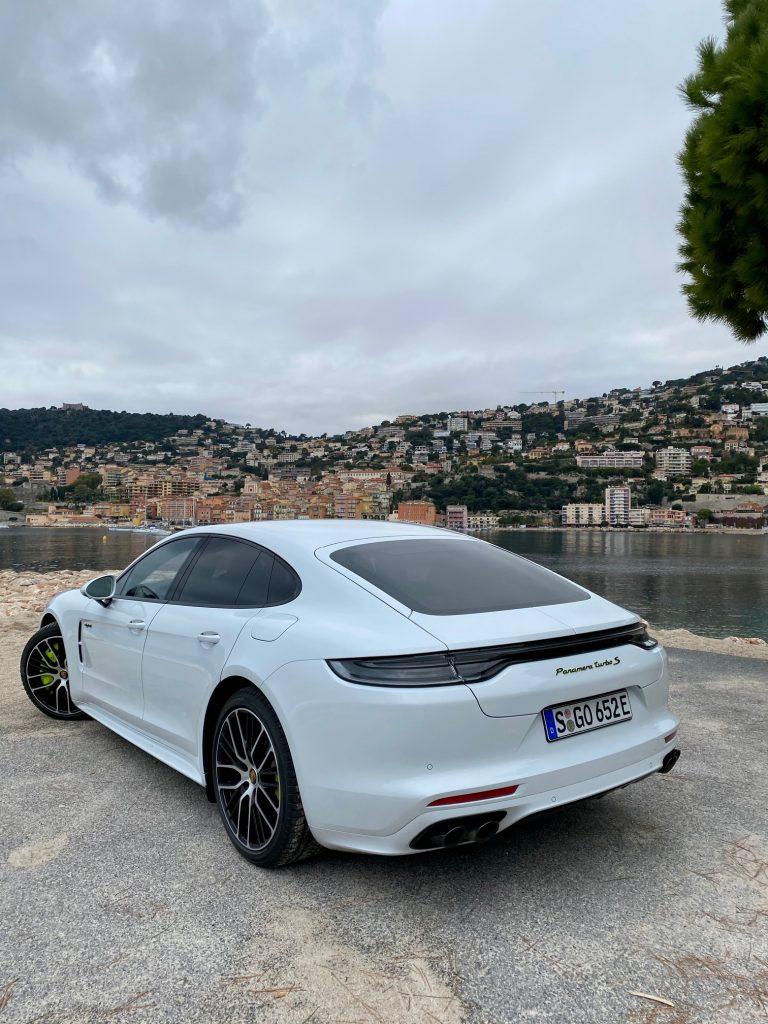 Porsche, Porsche panamera, berline, essai, berline hybride, Turbo s E-hybride, panamera turbo S, panamera hybride,