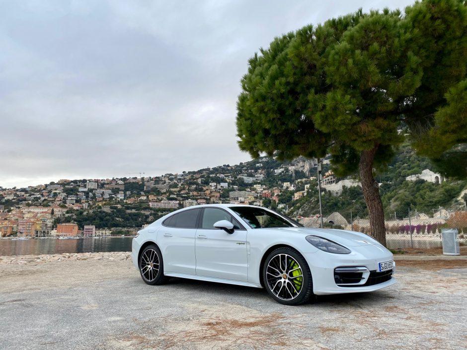 Porsche, Porsche panamera, berline, essai, berline hybride, Turbo s E-hybride, panamera turbo S, panamera hybride, panamera