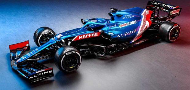 alpine, alpine F1 team, Alpine A521, A521, F1, Formule 1, sport auto, renault sport