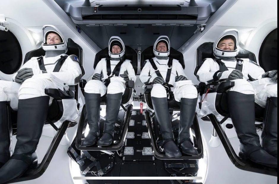 tesla, model X, tesla model X, thomas pesquet, crew dragon, space x, espace, lancement spatial